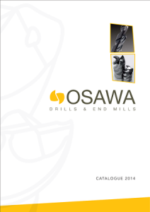 Фрезы osawa каталог