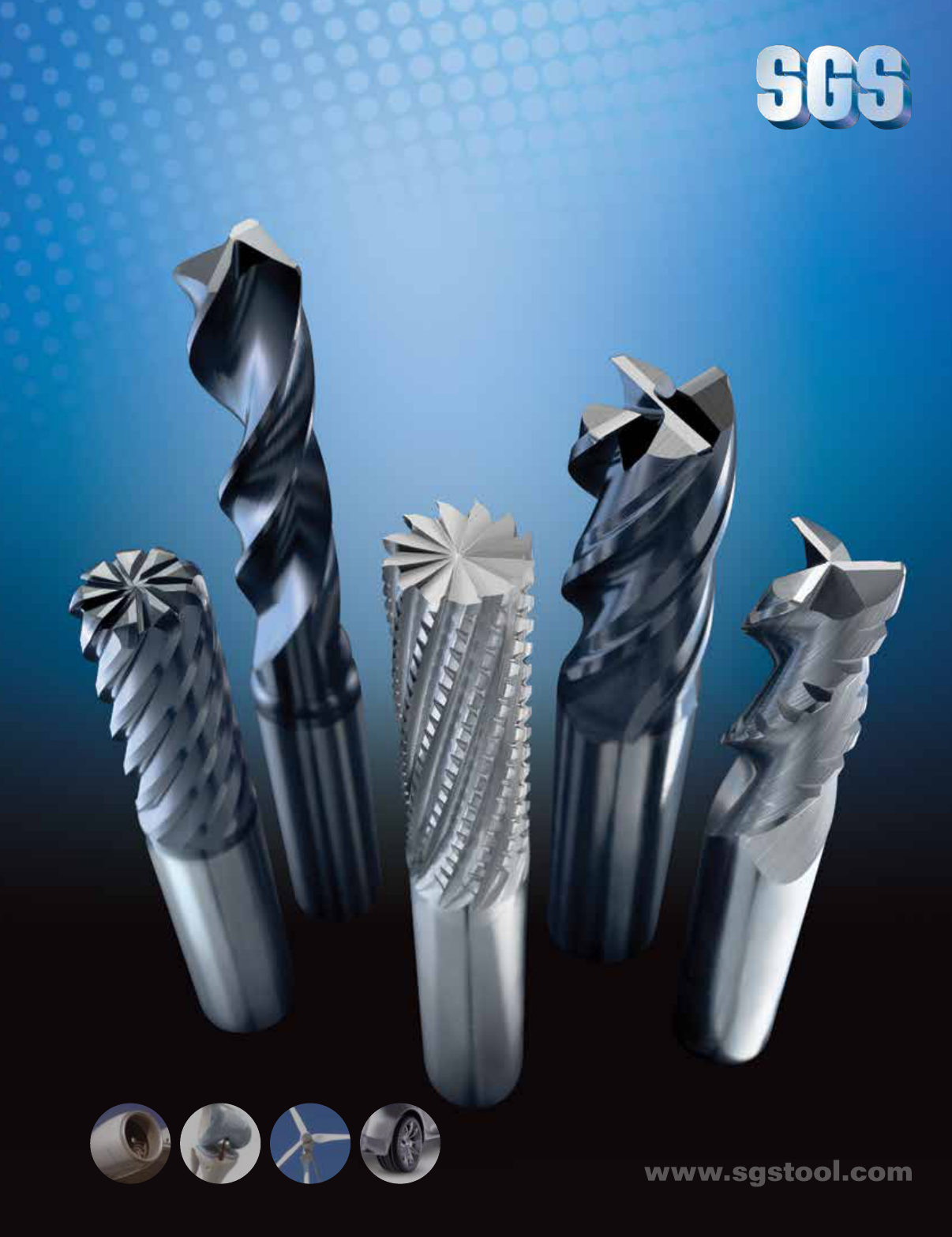 5//8 Shank Diameter 5//8 Cutting Diameter Titanium Nitride Coating SGS 38276 3CR 2 Flute Corner Radius General Purpose End Mill 3-1//2 Length 1-1//4 Cutting Length 0.020 Corner Radius