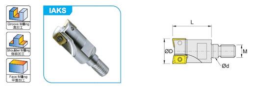 Фрезы для плунжерного фрезерования Winstar IAKS(P22)