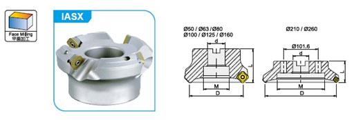 Система фрезерования IASX45(P35)