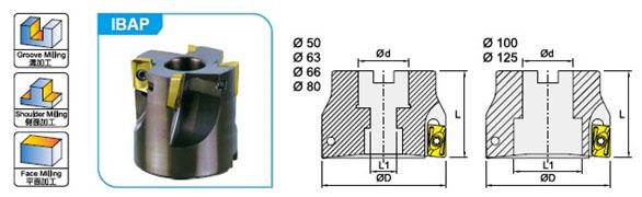 Система для обработки пазов и уступов Winstar IBAP3(P28)
