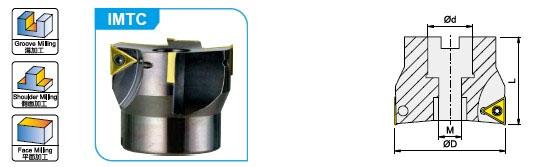 Система для обработки пазов и уступов Winstar IMTC(P40)